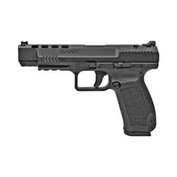 """CANIK TP9SFX 9MM 5.2"""" 20RD BLK OUT"""