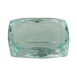 5.29 ct. Natural Cushion Cut Aquamarine