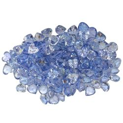 15.42 ctw Round Mixed Tanzanite Parcel