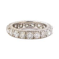3.25 ctw Diamond Ring - 18KT White Gold