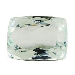 6.84 ct.Natural Rectangle Cushion Cut Aquamarine