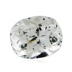 5.99 ct.Natural Cushion Cut Aquamarine