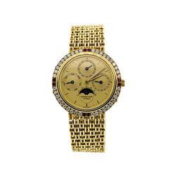 Audemars Piguet 18KT Yellow Gold Automatic Calendar Wristwatch