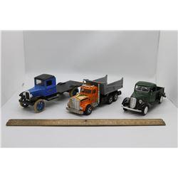 3 misc trucks