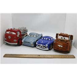 Car characters toys