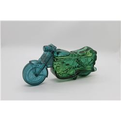 Motorcycle cologne bottle
