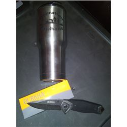 Tumbler & Knife Set