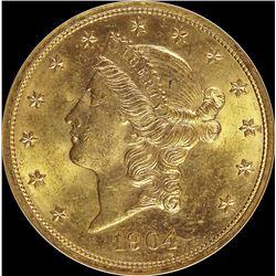 1904 $20 GOLD LIBERTY