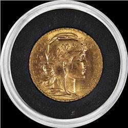 1911 FRANCE 20 FRANCS GOLD