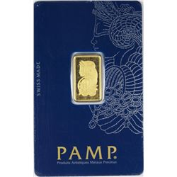 PAMP 5 GRAMS GOLD BAR