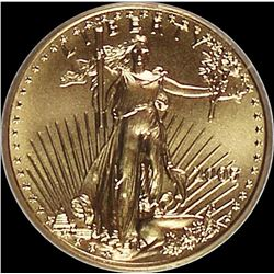 2005 1/10 OZ GOLD EAGLE