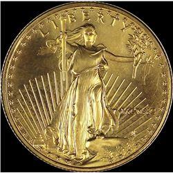1990 $25 GOLD EAGLE