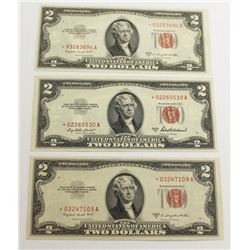 LOT OF $2.00 STAR NOTES