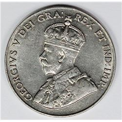 1926 NEAR 6 CANADA NICKEL