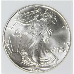 1994 AMERICAN SILVER EAGLE