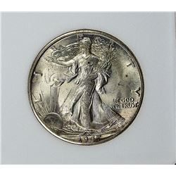 1947-D WALKING LIBERTY HALF DOLLAR