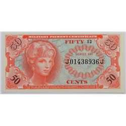 MILITARY PAYMENT CERT SERIES 641 FIFTY CENTS