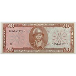 MILITARY PAYMENT CERTIFICATE SERIES 681 $20.00