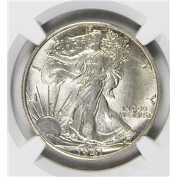 1941-D/O WALKING LIBERTY HALF DOLLAR