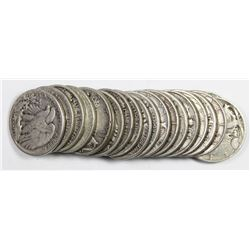 ROLL OF 20 WALKING LIBERTY HALF DOLLARS