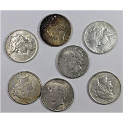 ROLL OF PEACE SILVER DOLLARS