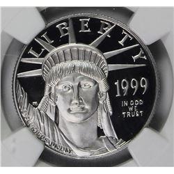 1999-W PLATINUM $50 EAGLE