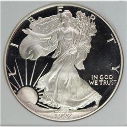1992 AMERICAN SILVER EAGLE