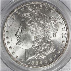 1886 MORGAN SILVER DOLLAR