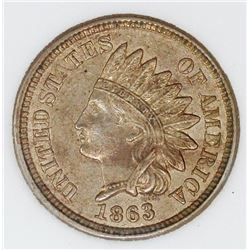1863 INDIAN CENT