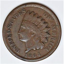 1864 BR INDIAN CENT