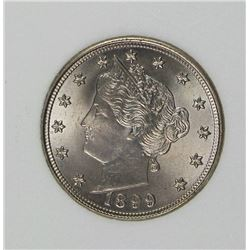 1899 LIBERTY NICKEL