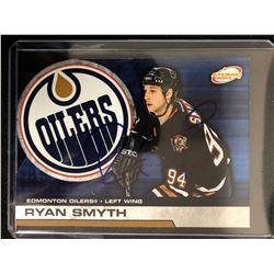 RYAN SMYTH SIGNED ATOMIC 2003 HOCKEY CARD