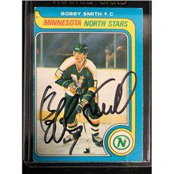 BOBBY SMITH SIGNED 1979-80 O-PEE-CHEE ROOKIE CARD