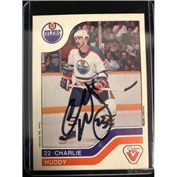 1983-84 Vachon Charlie Huddy #27 Hockey Card