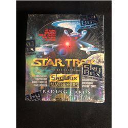 STAR TREK SKYBOX MASTER SERIES TRADING CARDS HOBBY BOX