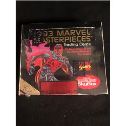 1993 MARVEL MASTERPIECES TRADING CARDS HOBBY BOX