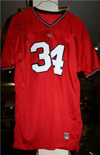 UGA Football Jersey signed Herschel Wal