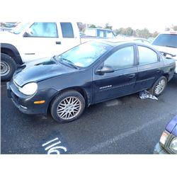 2001 Dodge Neon