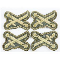 Lot (4) Canadian Army General's Rank Garrison Uniform Insignia
