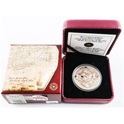 2013 - RCM L.E. Proof Silver Dollar, 250th Anniversary of the End of the Seven Years War with C.O.A.