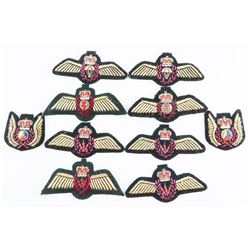 Lot (10) Canadian Forces Mobile Command Cloth Badges
