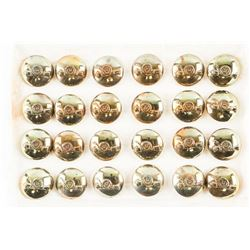 24 Royal Canadian Ordance Corps Brass Buttons in Scully Packet.