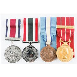 Estate Lot (4) Special Services Medals