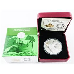2016 .9999 Fine Silver $20.00 Coin 'The Canadian Home Front Patrol Against U-Boats' LE/C.O.A. (AR)