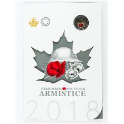 RCM 2018 Remember Armistice 6 Coin Folio - Red Poppy 2.00 Sold Out Issue