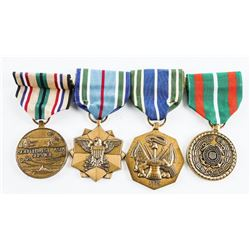 Group (4) US Medals