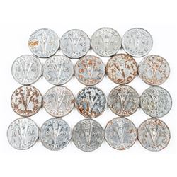 Lot (19) Victory - 1944-1945 Nickels