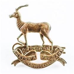 WWII South African Army Pretoria Regt. (Princess Alice's Own) Cap Badge