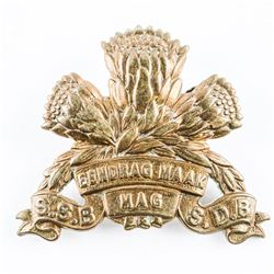 WWII South African Army Special Services Battalion Officers Hat Badge