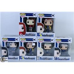 LOT OF SIX FUNKO POPS: ASSORTED RIVERDALE PACK.
